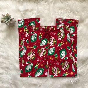 Elf Christmas Pajama Pants